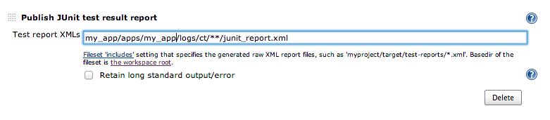 Common Test: Generating JUnit style xml reports for Jenkins